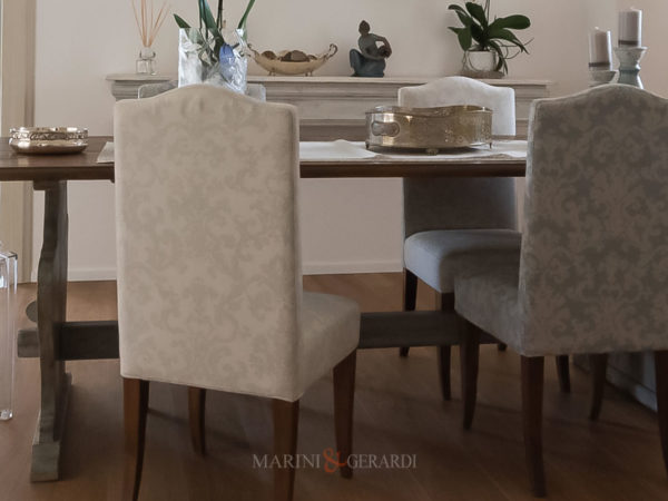 Fabric Jacquard Cabinet Chairs Sofas Armchairs With Table Assoon Copping In Living Room